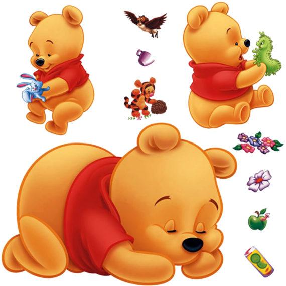 Winnie the Pooh, Bear Wall Decal