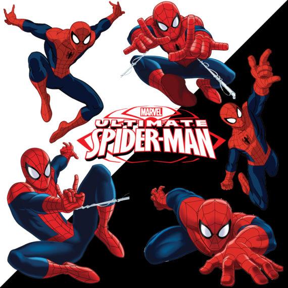 Spiderman Black & White Bg