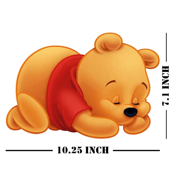 Bear Decor Animal Nursery Stickers