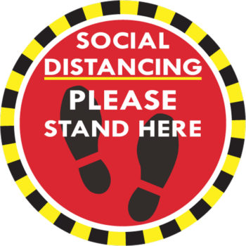 Social Distance Warning for Customers